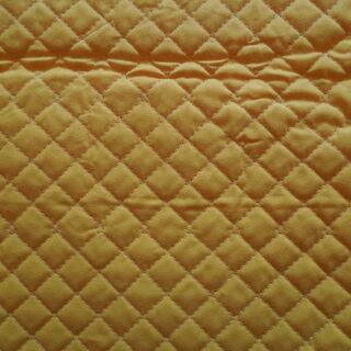 (布地) キルティング素材 黄色単色