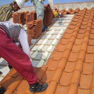 最強の防災対策。瓦屋根にはポリフォーム - 浜松市