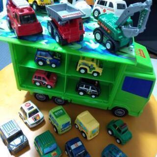 自動車セット(ミニカー21台未使用品)の画像