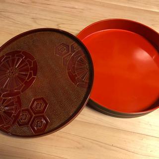 【レトロ】寿司桶とお皿のセット