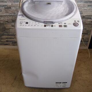 動作品 SHARPシャープ★7.0kg タテ型洗濯乾燥機 ES-...