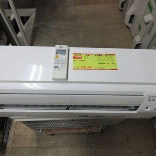 K02158 三菱 中古エアコン 主に6畳用 冷2.2kw/暖2...