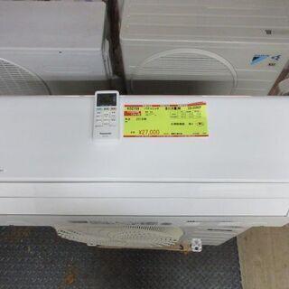 K02159 パナソニック 中古エアコン 主に6畳用 冷2.2k...