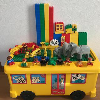 レゴブロック 動物バス