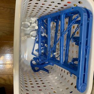 洗濯用品/洗濯カゴ/ハンガー/物干し台(屋外使用用)/生活用品の画像