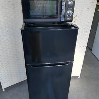 【配送無料】⭐高年式セット⭐ハイアール冷蔵庫130L+ヤマゼン電...