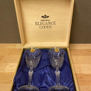 新品のワイングラス