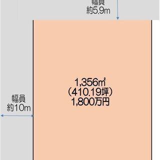 熊谷市吉所敷410坪土地