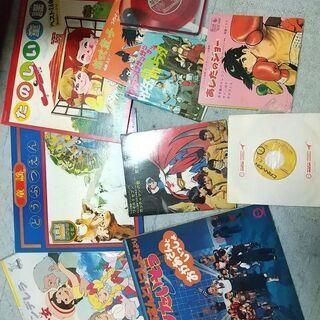 アニメや童謡のレコード