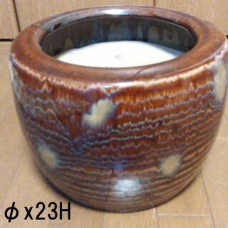 ◆取引条件有り◆【昭和初期・インテリア・金魚鉢・植木鉢】陶…