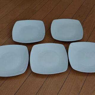 白いお皿 5枚セット☺️の画像