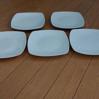 白いお皿 5枚セット☺️ - 熊本市