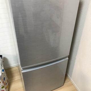 SHARP冷蔵庫 137L  2ドア