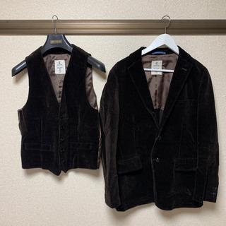【ネット決済・配送可】オリヒカ コーデュロイ ジャケット ジレ ...