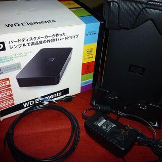 外付けハードディスクWDWD Elements Desktop ...