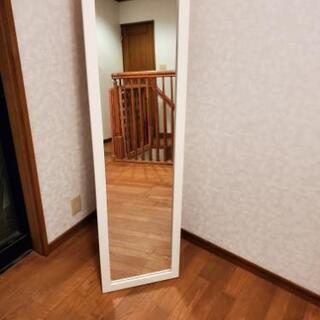【ネット決済・配送可】姿見鏡