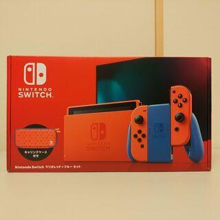 【新品・未使用】Nintendo Switch マリオレッド×ブ...