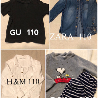 男の子 100~120まとめ売り10点