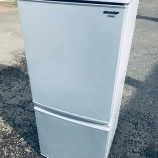 ♦️EJ1397B SHARPノンフロン冷凍冷蔵庫 【2010年製】