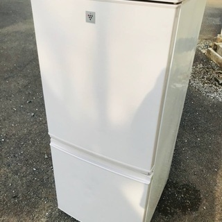 ♦️EJ1403B SHARPノンフロン冷凍冷蔵庫 【2016年製】