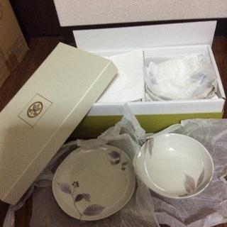 たち吉 やまつみ 皿5 鉢5セット 未使用 引き出物 引き取り限定