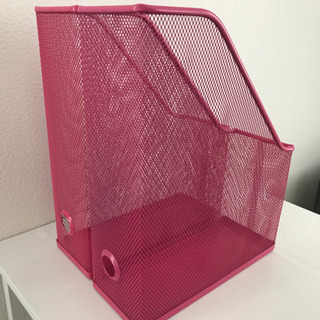 【IKEA】マガジンファイル2個セット