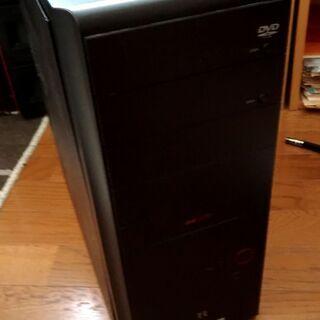 AMDの古いパソコン不動あげます、メモリ4G DDR2