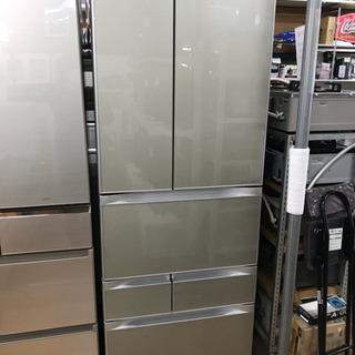 TOSHIBA 556L 6ドア冷蔵庫 中古