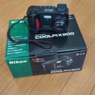 NIKON coolpix800 作動確認済み