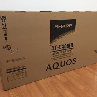 SHARP 4K40V型液晶テレビ AQUOS 4T-C40BH...