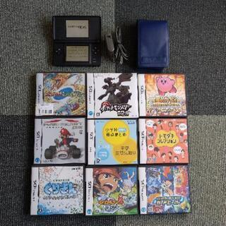 Nintendo DS 本体+ソフト9本