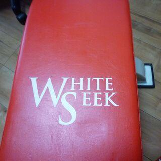 whiteseeekトレーニングベンチ中古美品