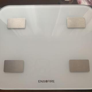 【ネット決済・配送可】ENACFIRE 体重体組成計