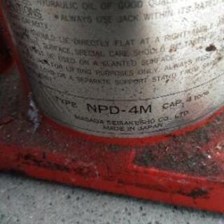 ダルマジャッキ MASADA  NPD-4M