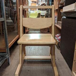 オカムラ okamura 学習椅子 キャスター 木製 勉強椅子 ...