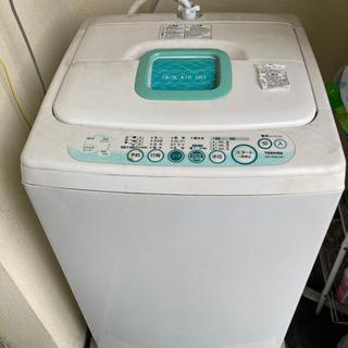 TOSHIBA 洗濯機 4.2kg (訳あり:排水ホース破損)