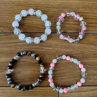 💍数珠ブレスレット4個