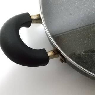 マーブル plusプラス 浅型卓上鍋 26㎝♡ガスコンロ直火OK − 京都府