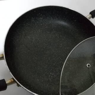 マーブル plusプラス 浅型卓上鍋 26㎝♡ガスコンロ直火OK - 生活雑貨