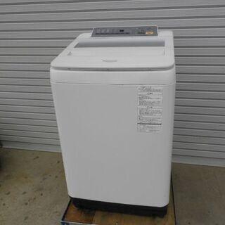 パナソニック全自動電気洗濯機 ステンレス槽NA-FA80H3 8...