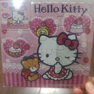 キティちゃんミニパズル