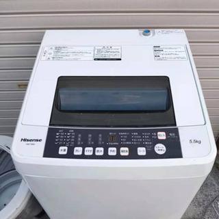 分解洗浄済ハイセンス洗濯機5.5kg