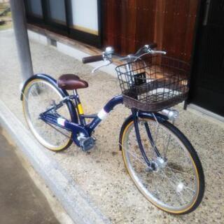 女の子用自転車24インチ