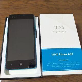 SIMフリー☆UPQ Phone A01(スマホ)