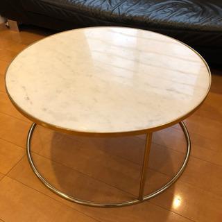 大理石センターテーブル