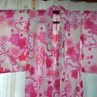 【美品】女児浴衣と兵児帯150cm