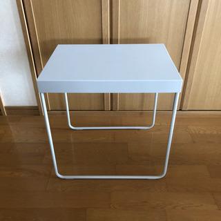 IKEA サイドテーブル 白