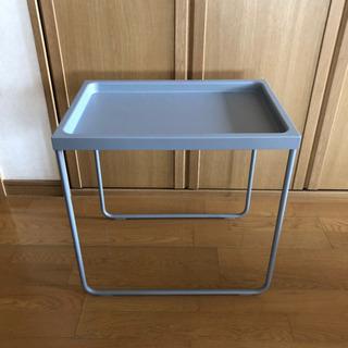 IKEA サイドテーブル グレー