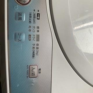 0円で洗濯機譲ります - 家電