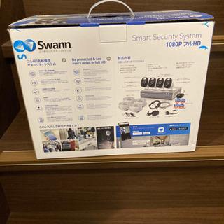 スワン スマートセキュリティシステム 1080P フルHD 監視カメラ